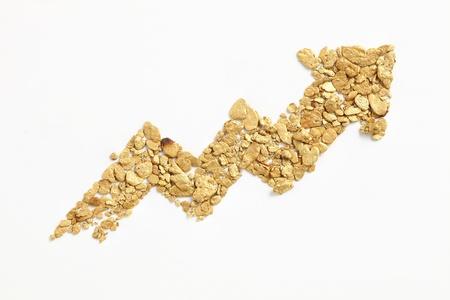 panning shot: Arrow fianco a fianco polvere d'oro