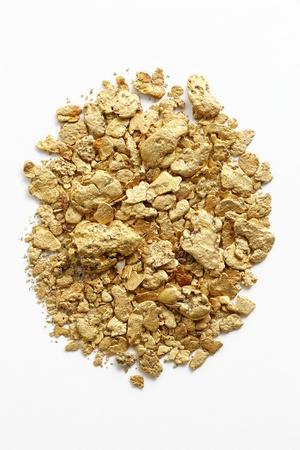 panning shot: Gold dust of Japanese Stock Photo