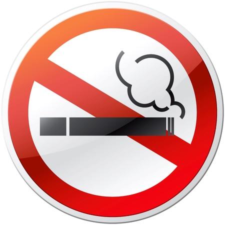non: Non smoking mark