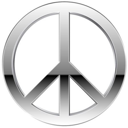 peace symbol: Peace Symbol Silver