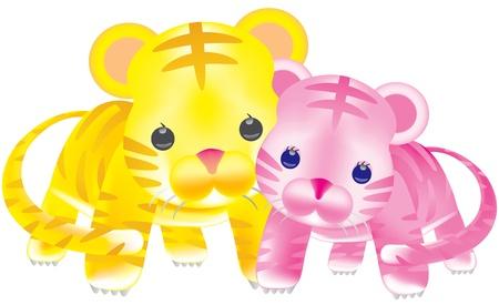 tora: Tiger Cub pair