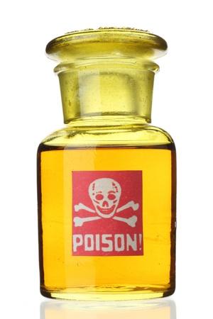 veneno frasco: Botella de veneno