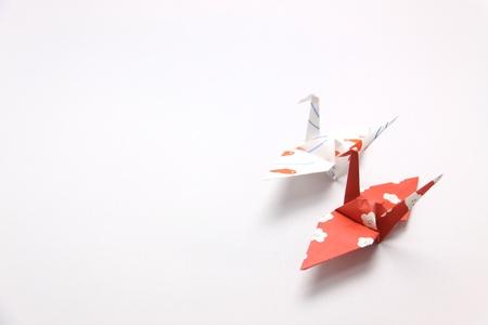 Paper crane photo