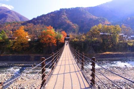 riverine: Bridge Stock Photo