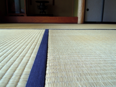 settled: Japanese-style room Stock Photo