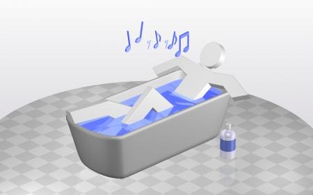 en suite: Bathtime