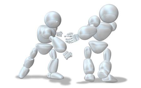 strife: CG immagine che rappresenta la violenza