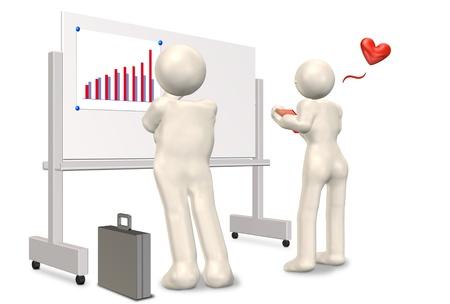 strategize: Businessman strategize