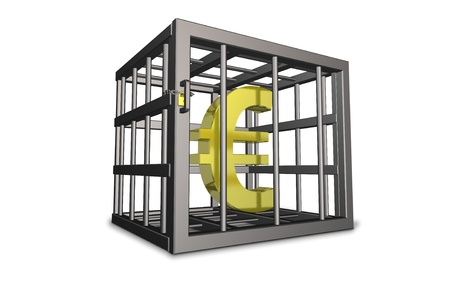 inconvenient: 3DCG illustrations representing the regulation to the euro