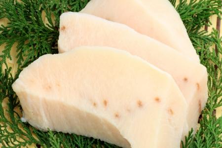 Fillet of swordfish Stock Photo