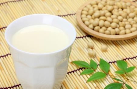 Soy milk photo