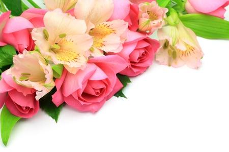 alstroemeria: Alstroemeria and roses