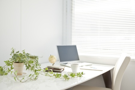 plurality: Business items and office desk