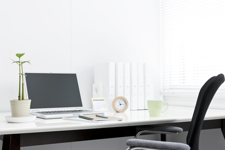 horologe: Business items and office desk