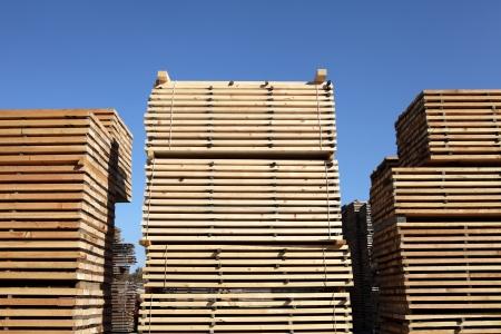 stowing: Timber