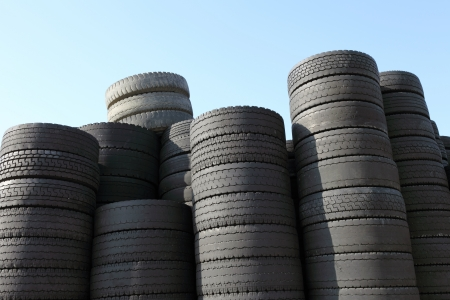 stowing: Tire Stock Photo