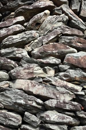 stowing: Stone wall Stock Photo