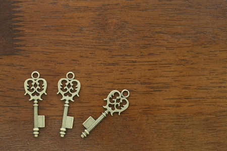 Antique key photo