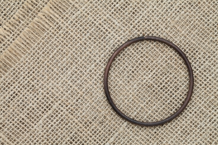 iron hoops: Ring Stock Photo
