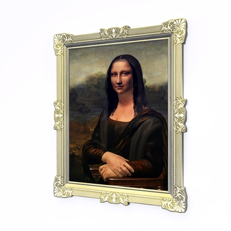 Mona Lisa photo
