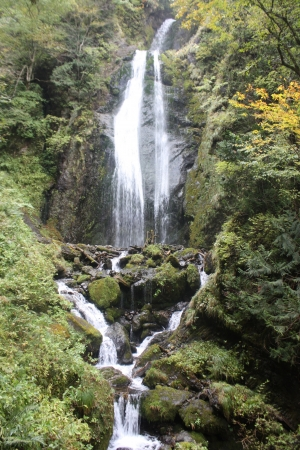 riverine: Waterfall in the valley return return embrace