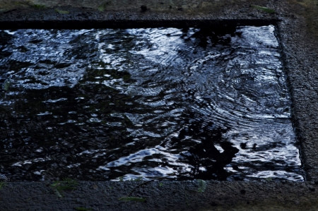 springwater: Spring water Stock Photo