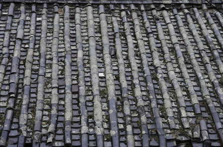 rooftile: Tile that is decayed