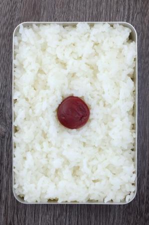 bento: Hinomaru Bento Stock Photo