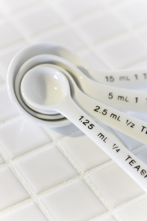 measuring spoon: Measuring spoon Stock Photo