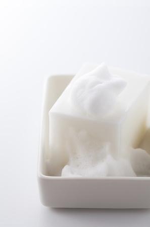 en suite: Soap and bubble