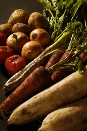 dikon: Verduras