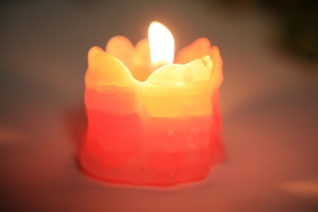 fluctuation: Candle Stock Photo