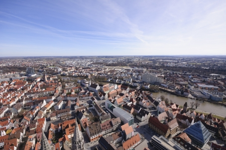 View from the tower of Germany Ulm Cathedral photo