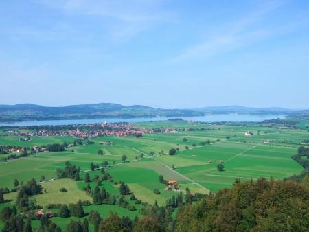 schwangau: Schwangau and Füssen Germany Stock Photo