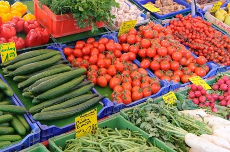 dikon: Mercado de Alemania Foto de archivo