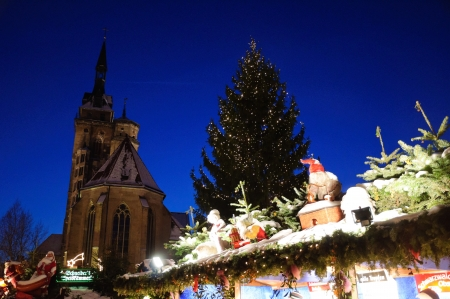 Germany Stuttgart Christmas Market photo