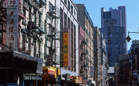 Chinatown New York photo