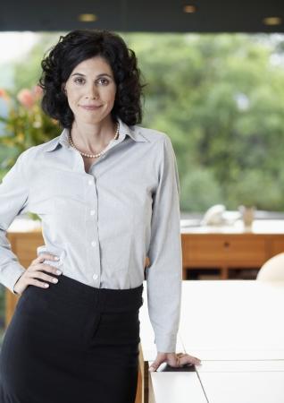 Mid adult businesswoman (portrait) photo