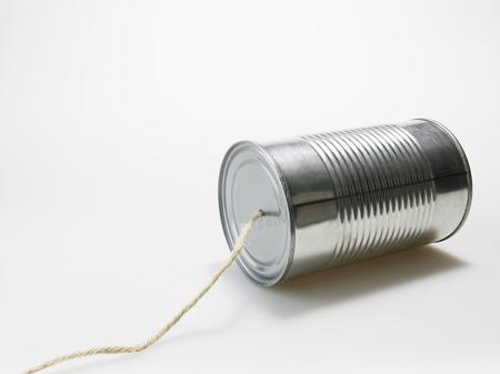 tin can: Tin Can Phone