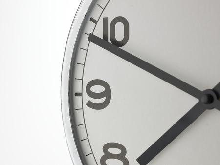 wall clock: Single Wall Clock