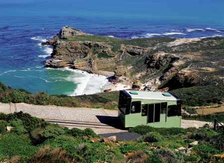 Cable car of Cape of Good Hope photo