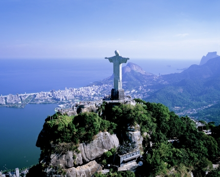 Christ the Redeemer hill photo