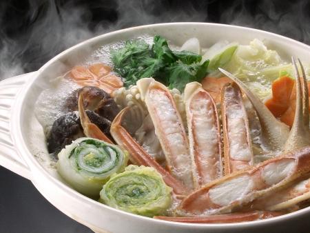 Crab pot feast of winter Stock Photo