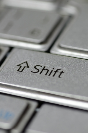 PC Shift key Stock Photo - 23299225