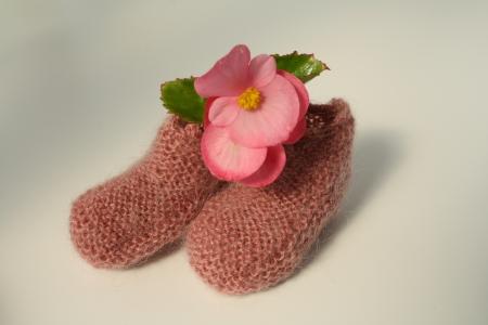 Baby socks photo