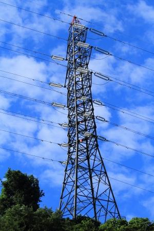 Steel tower photo