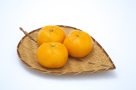 Mandarin oranges photo