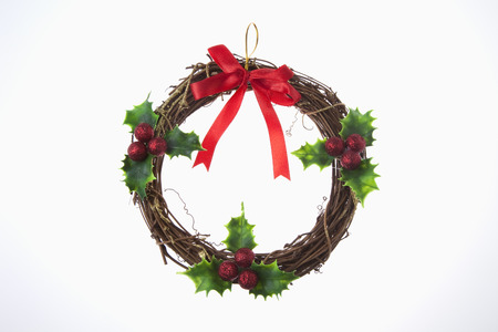 Christmas wreath photo