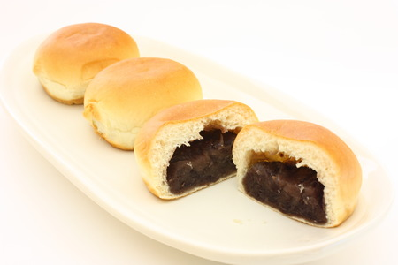 Anpan buns photo