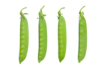 Fresh snow peas photo